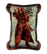"34"" Pirates of the Carribbean 4 Scroll"