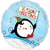 18'' Seasons Greetings Penguin