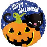 "18"" Halloween Kitty Balloon"