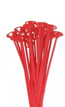 "13"" One Piece Cup and Stick-Red"