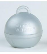 35 Gram Bubble Weights Silver